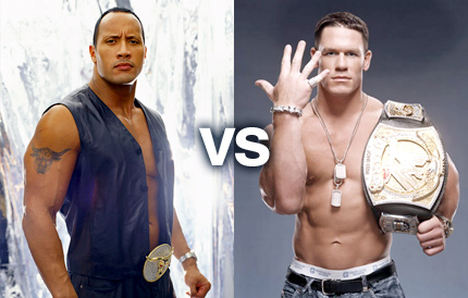 John Cena and The Rock Comment on WWE Raw Last Night ...